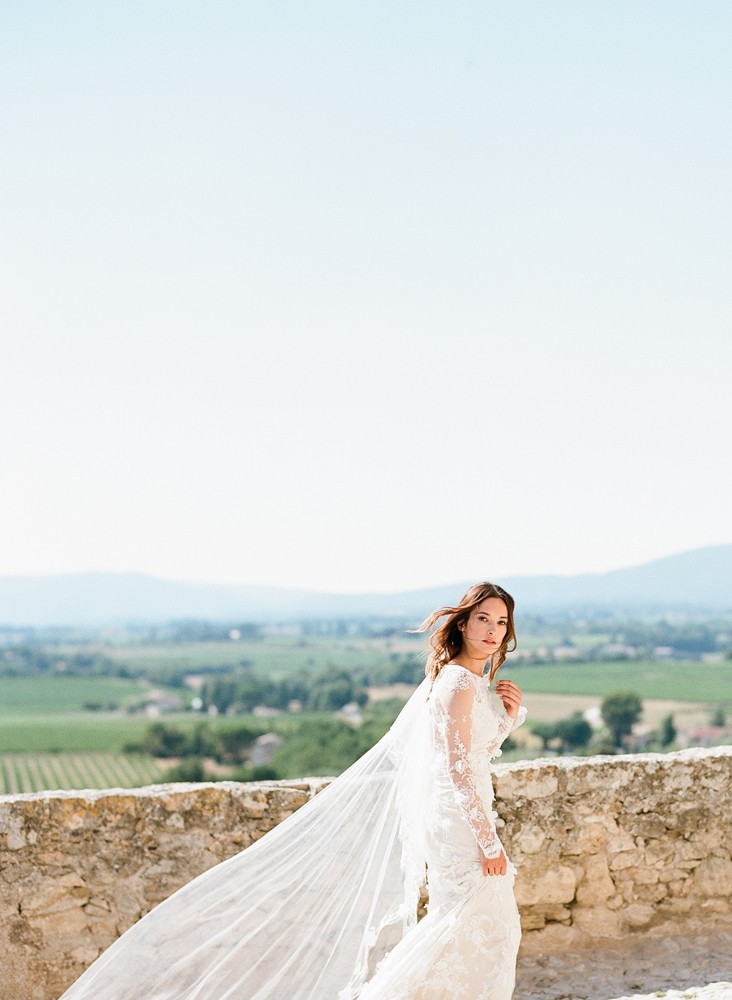 SylvieGil-0268chateau, ClairePettibone, France, Photography, Provence, romantique, Wedding