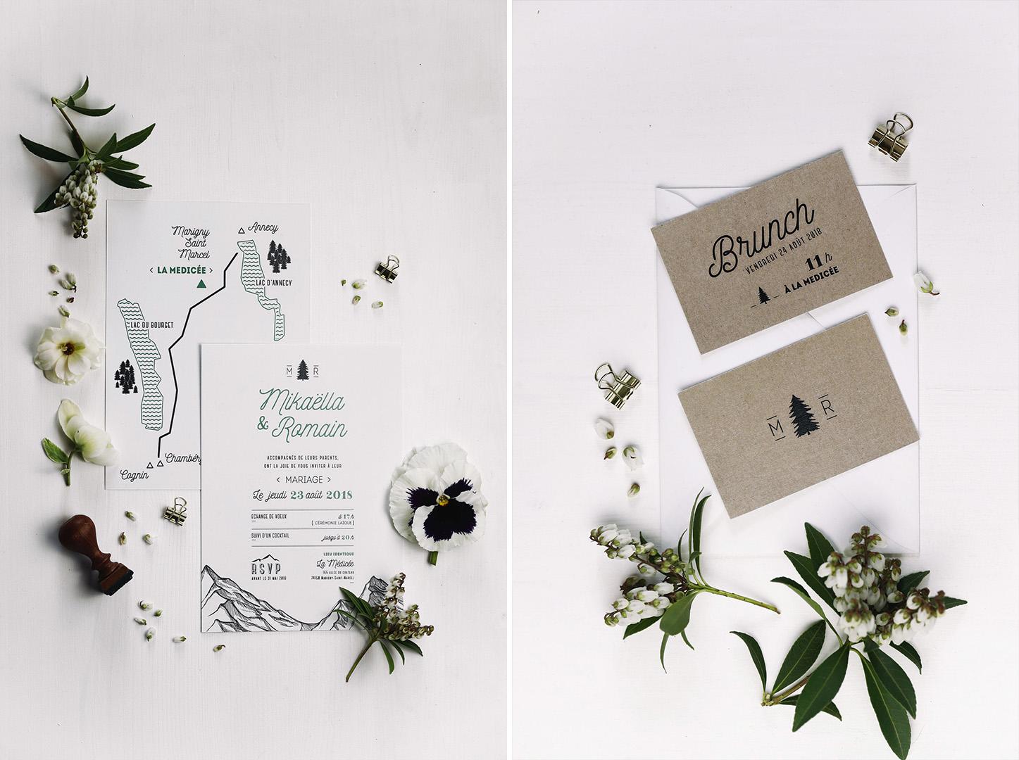 Plus adapté Décoration de mariage montagne Annecy | Majenia Design HP-96